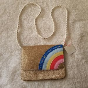Cat&jack RAINBOW glitter bag